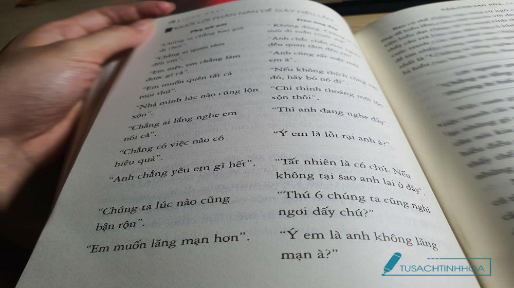 Đàn ông sao hỏa, đàn bà sao kim - bất đồng ngôn ngữ